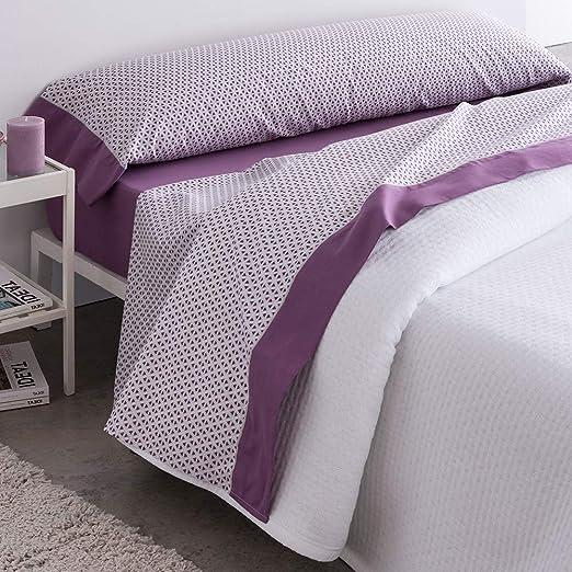 Barceló Hogar 03060180223 Juego de sábanas, modelo Titán, algodón ...