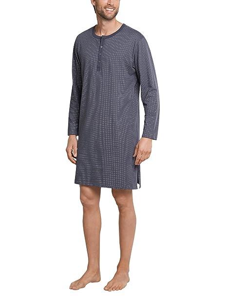 Schiesser Nachthemd Lang - Pijama de una pieza Hombre: Amazon.es: Ropa y accesorios