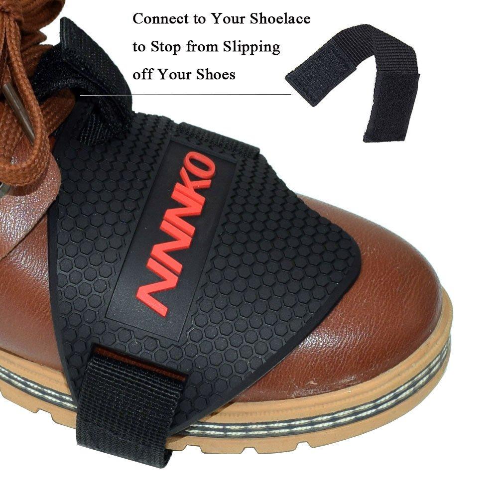 motocicletta Motociclista moto Scarpa del pattino stivali Protezione del pattino in gomma