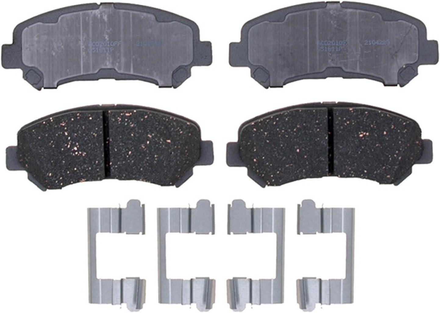 Disc Brake Pad Set-Ceramic Disc Brake Pad Rear ACDelco Advantage 14D1288CH
