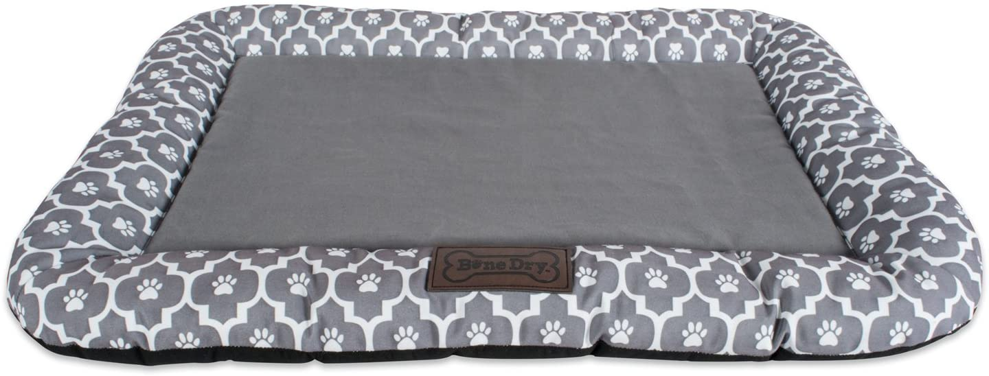 DII Bone Dry Kennel & Crate Padded Pet Mat For Small, Medium, and Large Dogs or Cats