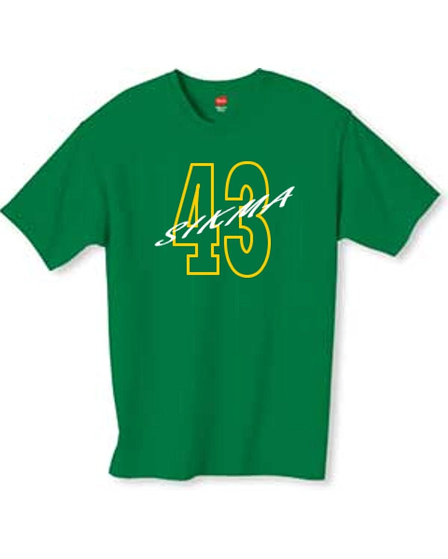 Wallys Custom Apparel Sikma 43 T Shirt Kelly Green Sizes Small 2XL