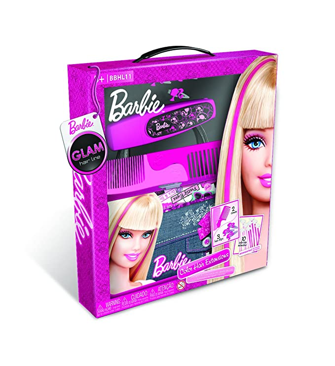Barbie Glam Hair Extensions Amazon Toys Games