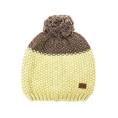 f3921b86a4f Aigle Unisex Beanie Hat - Beige - One Size: Amazon.co.uk: Clothing