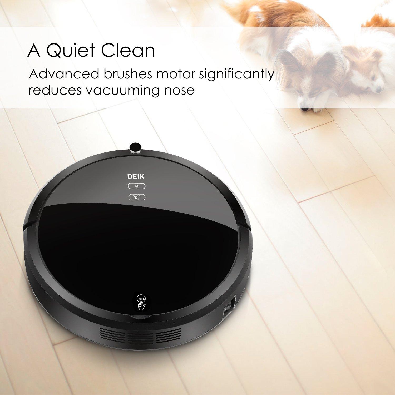 Robotic Vacuum Cleaner With Self Charging Amp Drop Sensing