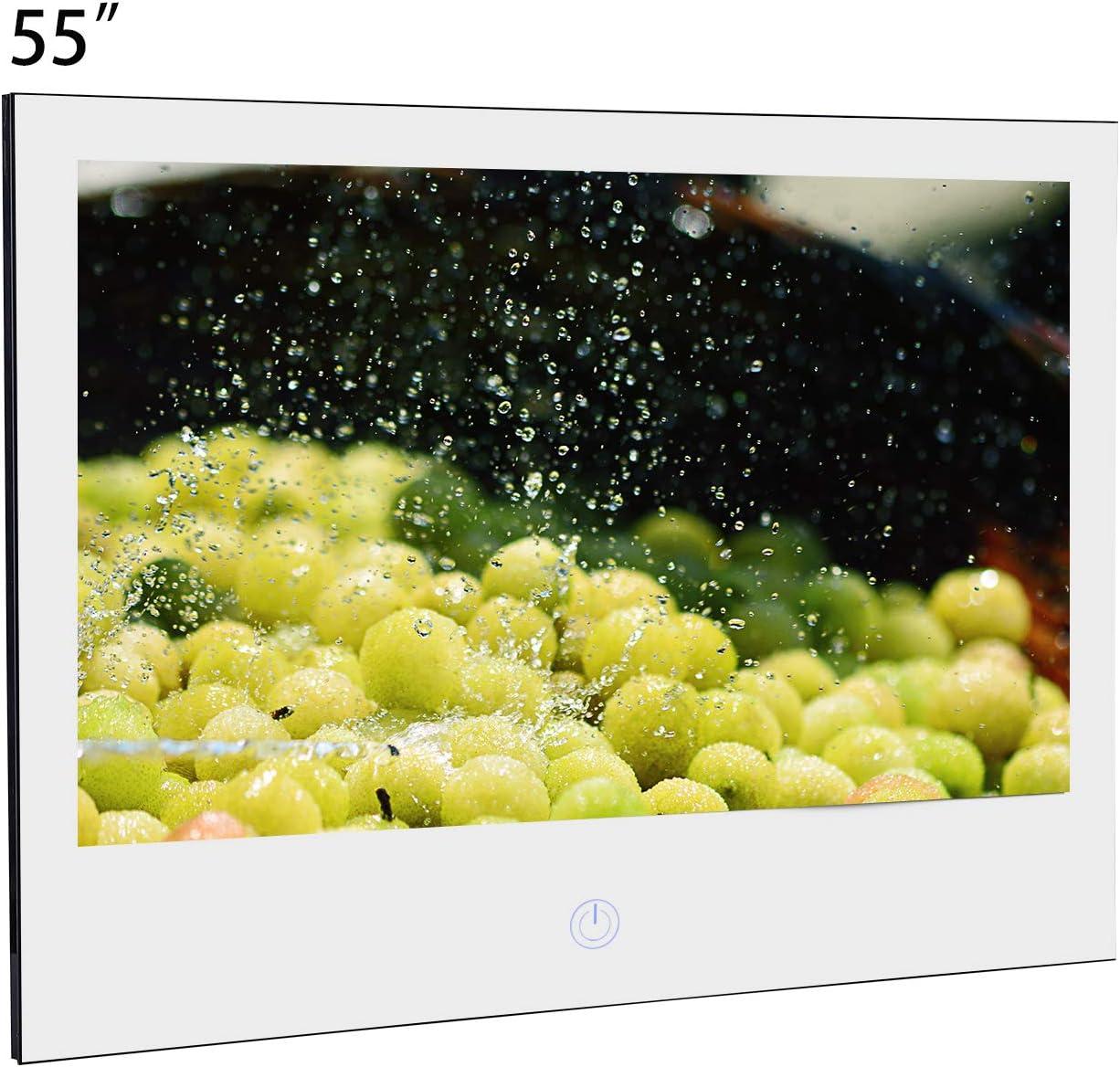 Haocrown TV a Prueba de Agua TV de baño (55, Espejo): Amazon.es ...