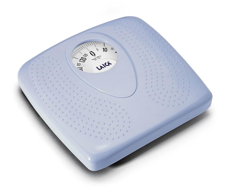 Laica PL8019 - Báscula de baño (Azul, 29 cm, 30 cm, 6 cm, 290 x 300 x 60 mm): Amazon.es: Salud y cuidado personal