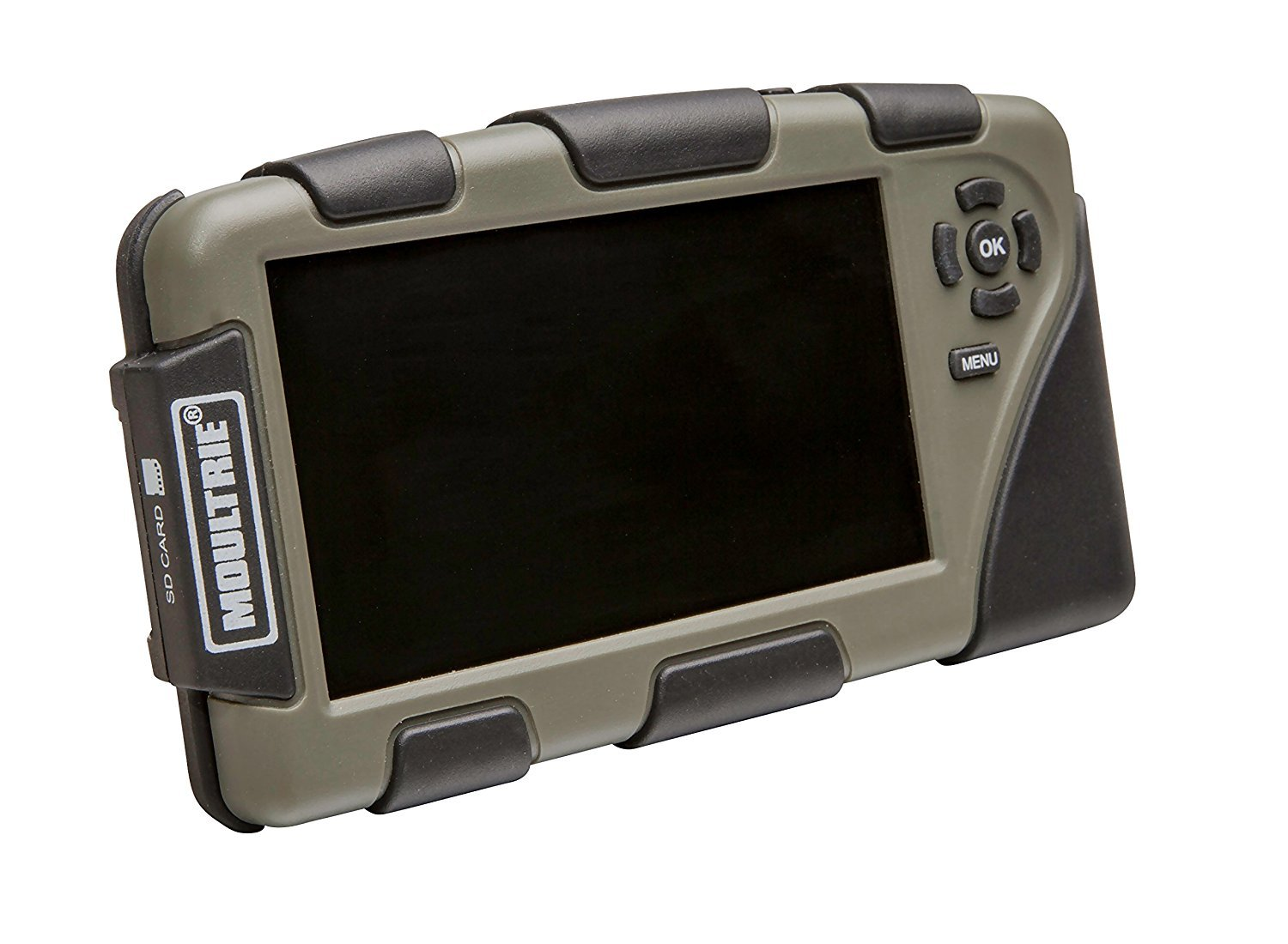 Moultrie 4.3″ Picture and Video Viewer | Accepts up to 32 GB Cards | Micro USB Connection | Headphone Jack