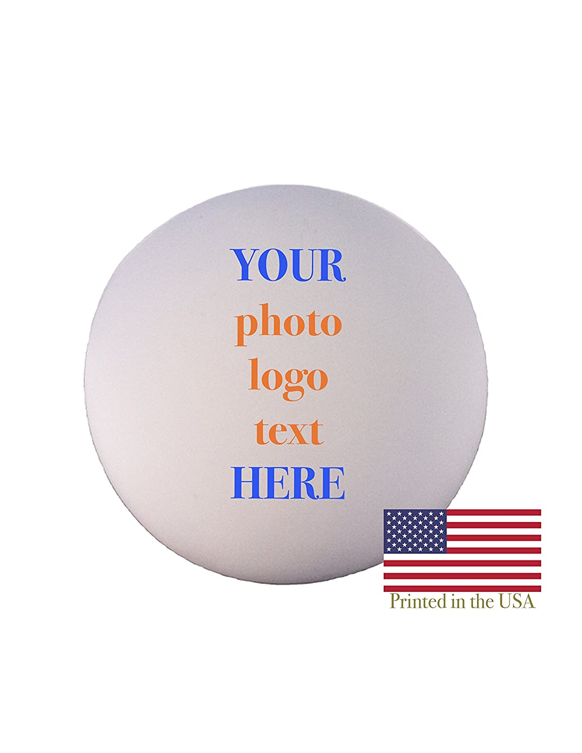 Custom Personalized Lacrosse Ball - Ships Next Day, High Resolution Photos, Logos & Text on Lacrosse Balls - for Players, Trophies, MVP Awards, Coaches, Personalized Gifts Ballstars