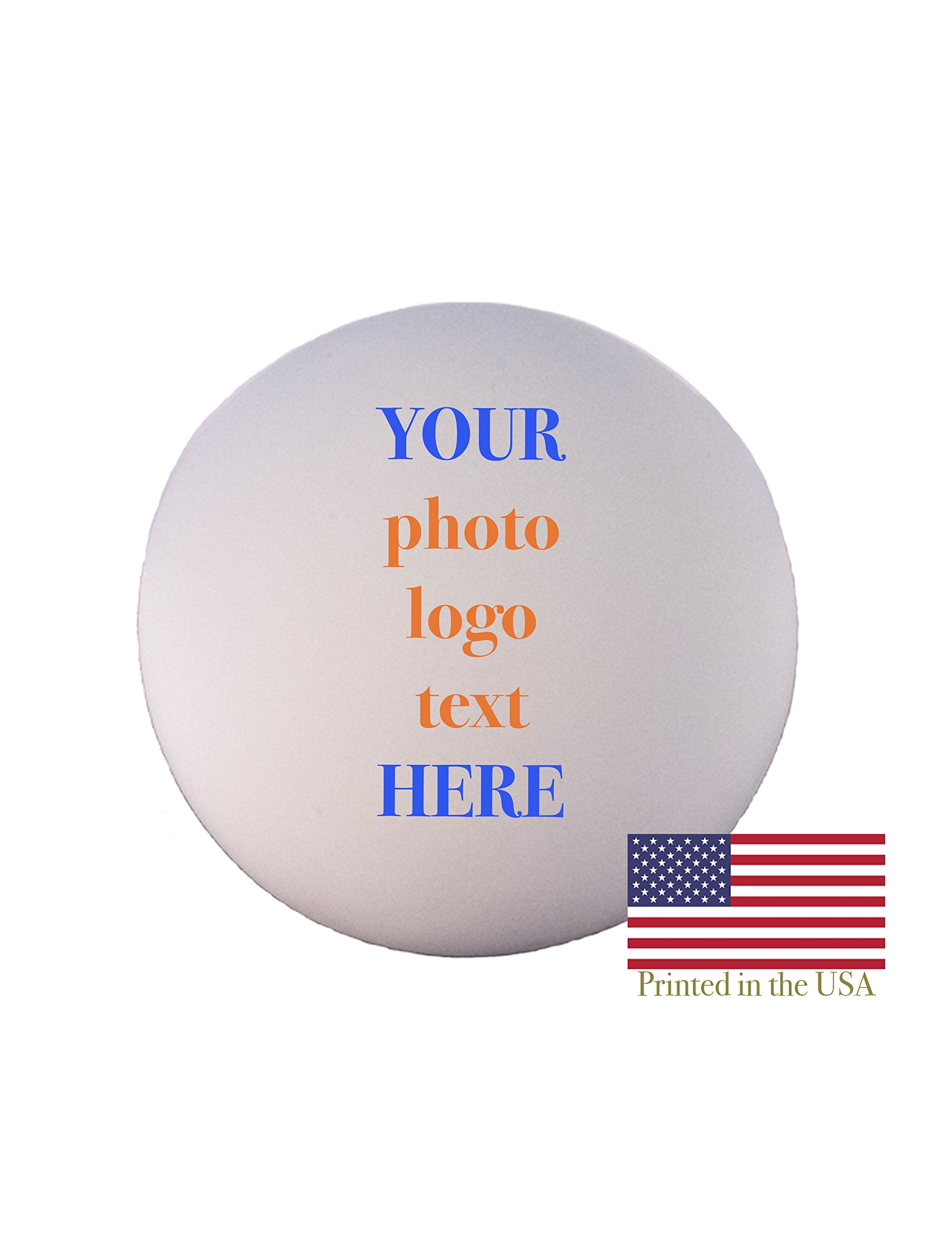 Custom Personalized Lacrosse Ball - Ships Next Day, High Resolution Photos, Logos & Text on Lacrosse Balls - for Players, Trophies, MVP Awards, Coaches, Personalized Gifts