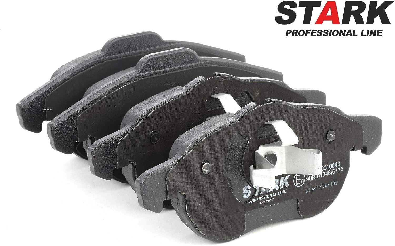 Bremssteine Bremskl/ötze Vorne Scheibenbremse Scheibenbremsbelage STARK SKBP-0010043 Bremsbelagsatz