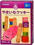 和光堂のおやつすまいるぽけっと やきいもクッキー (2本×6包)×4箱