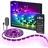 Govee TV LED Strip Lights, 6.56FT RGBIC TV LED Backlights with App Control, Music Sync, Scene Mode, Color Changing LED Light