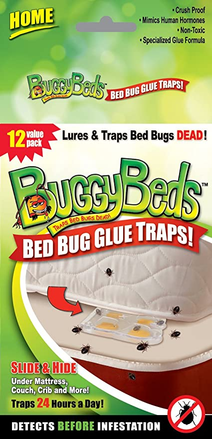 Amazon Com Bed Bug Traps Detection And Prevention Value Pack 12