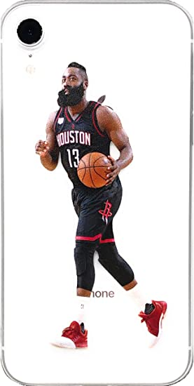 ff3507df6ab6b ECHC Soft TPU Basketball Case with Your Favorite Past and Present Players  Compatible for iPhone (Harden Dribble, iPhone X)