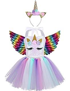 Disfraz Unicornio Niña, Vestidos Unicornio niña, Fiesta de ...
