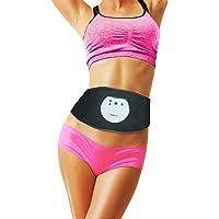 Famidoc cinturónpara abdomen, reductor de cintura–aprobado por la FDA FDES107 (Tecnología de electrodos de silicona de uso permanente libre de gel ), Entrenador de abdomen, cinturón de entrenamiento, Unidad EMS para pérdida de peso, reducción de medidas, tono muscular, fortalecimiento muscular