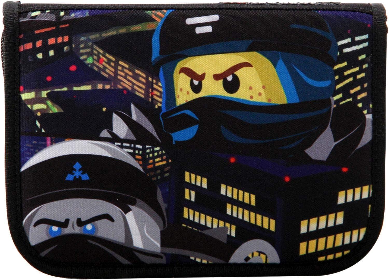 LEGO Bags LEGO Bags Federmäppchen, Schüleretui 20 teilig gefüllt, Federmappe mit LEGO NINJAGO Motiv Pencil Cases 20 centimeters 0.5 Blue (Urban), Assorted