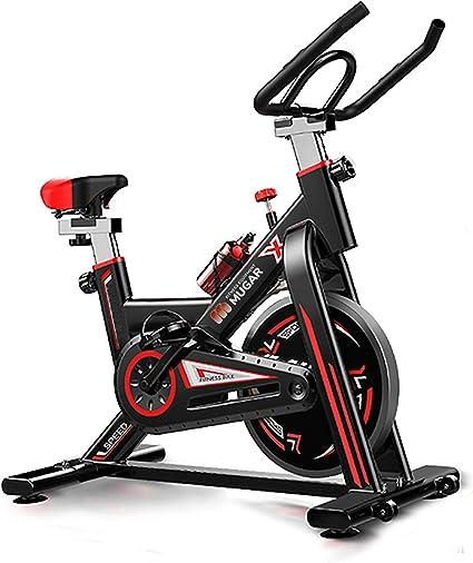 Mugar Bicicleta Estática Spinning MG-400, Bicicleta de Spinning Pantalla LCD, Resistencia Variable. Regulable. Silenciosa. Peso máximo 150 kgs: Amazon.es: Deportes y aire libre