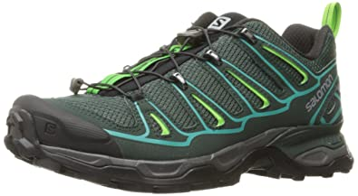Salomon Women's X Ultra 2 W Hiking Shoe, Bistro Green/Scarab/Ceramic,