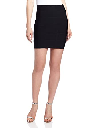 9fc6667cee Amazon.com: BCBGMAXAZRIA Women's Simone Bandage Skirt: Clothing