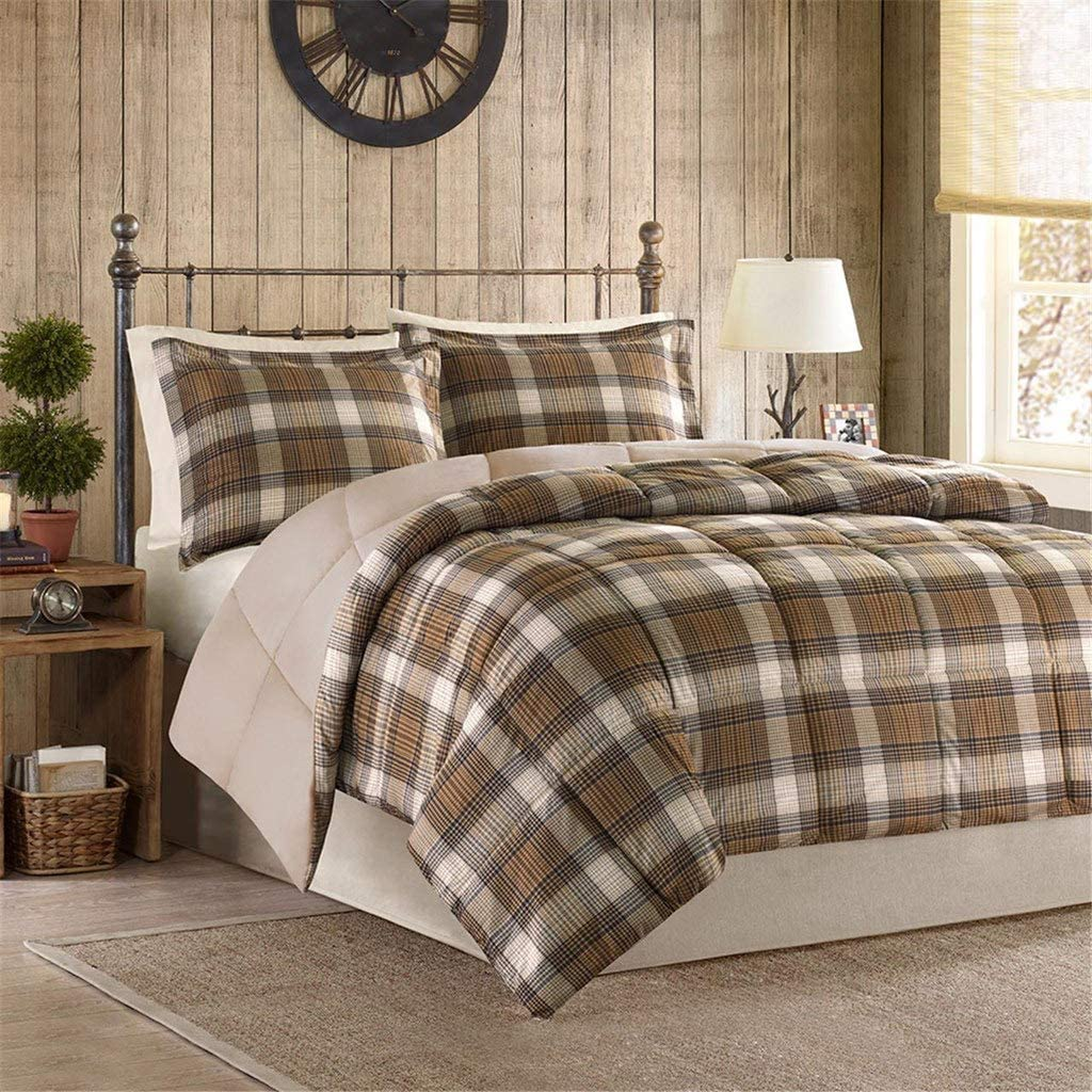 BLACK FOREST DECOR Woodsman Comforter Set - Full/Queen