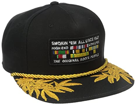 Amazon.com  LRG Men s Highly Decorated Snapback Hat 332b0bda539f