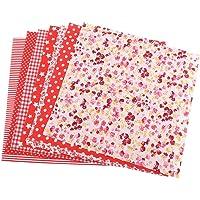 DERCLIVE tela de algodón 7 piezas 50 *