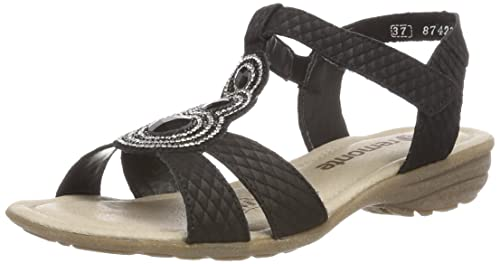 bc71efcf8081 Remonte Women s R3641 T-Bar Sandals  Amazon.co.uk  Shoes   Bags