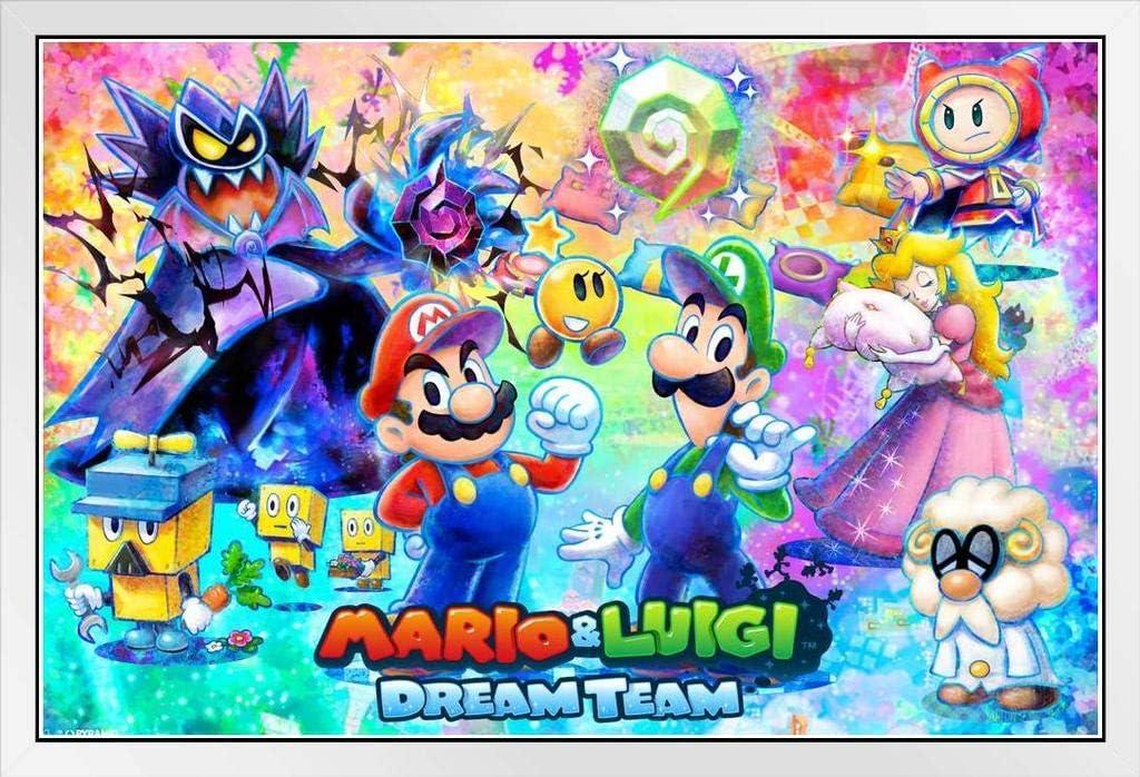 Amazon Com Pyramid America Mario Luigi Dream Team Cool Wall Decor