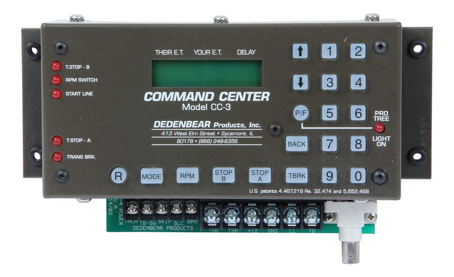 Dedenbear Digital Crossover Delay Command Center Delay Box P/N CC3