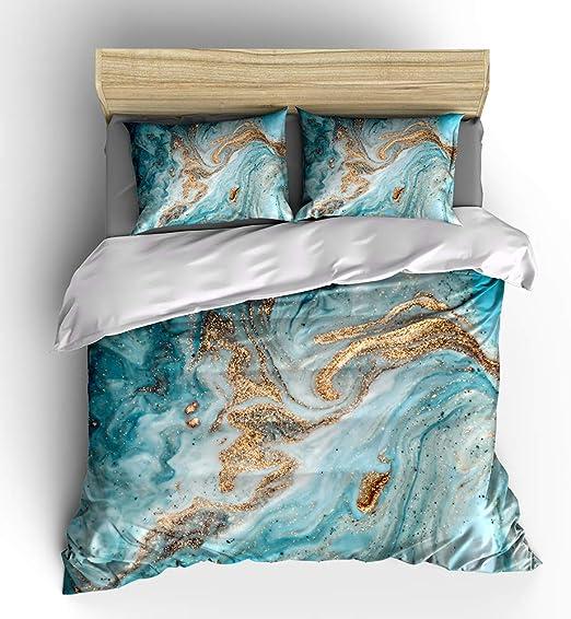 Amazon.com: WishColorful Marble Duvet Cover Sets Twin Size,3 Pcs