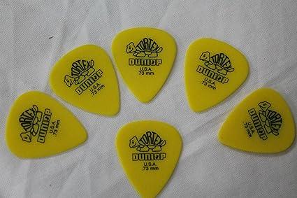 6 púas estándar 418 Púas, guitarra y bajo