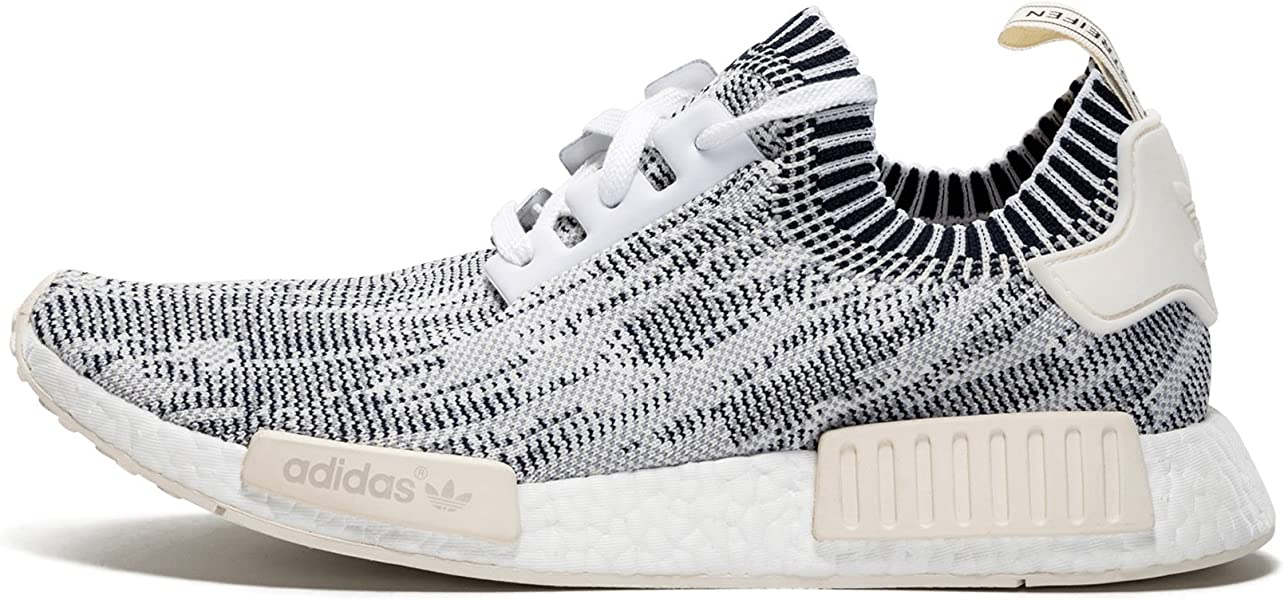 1d4ef3990e495 adidas Originals NMD Runner R1 Primeknit Camo Pack White Gray Camo Clear  Onyx Men's Shoes (