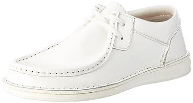 Pasadena Damen, Chaussures Bateau Femme - Blanc - Weiß (White), 37 EUBirkenstock
