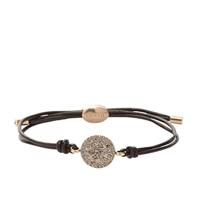 günstiger Preis super service ziemlich billig Fossil Damen-Armband Braun/schwarz/rosé 32002330