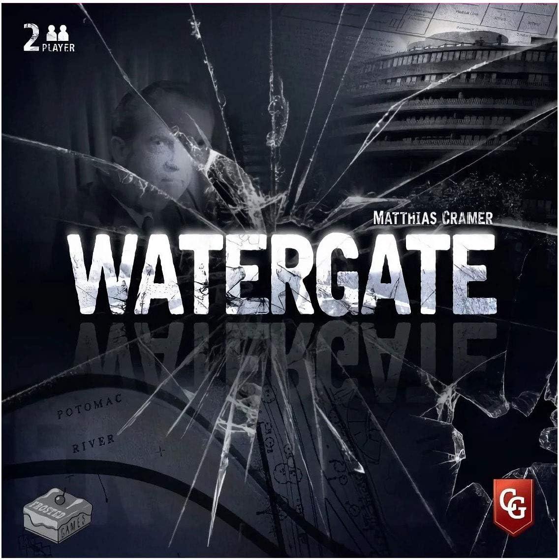 Capstone Games Watergate - Juego de Mesa [Inglés]: Amazon.es: Juguetes y juegos