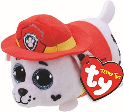 """ty Teeny Tys Collection 4"""" Paw Patrol Rocky"""