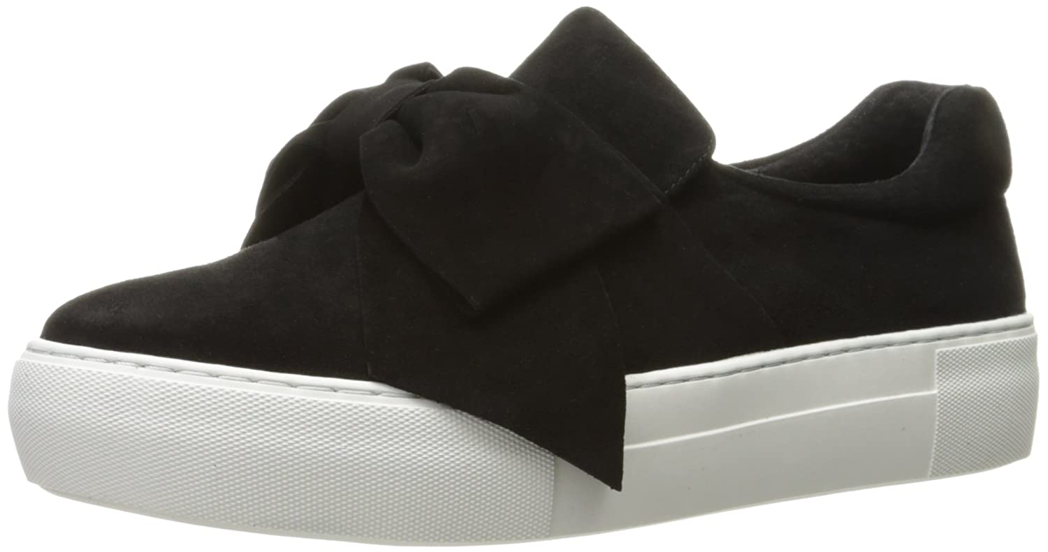 J Slides Women's Beauty Fashion Sneaker B01M3PTXT0 6 B(M) US|Black Suede