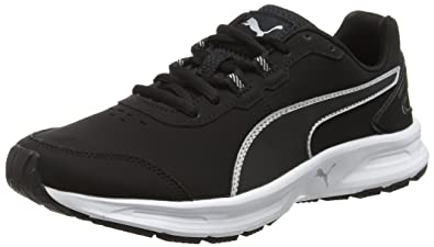 Puma Descendant - Chaussures de Fitness - Mixte Adulte - Noir (Black/Silver  02