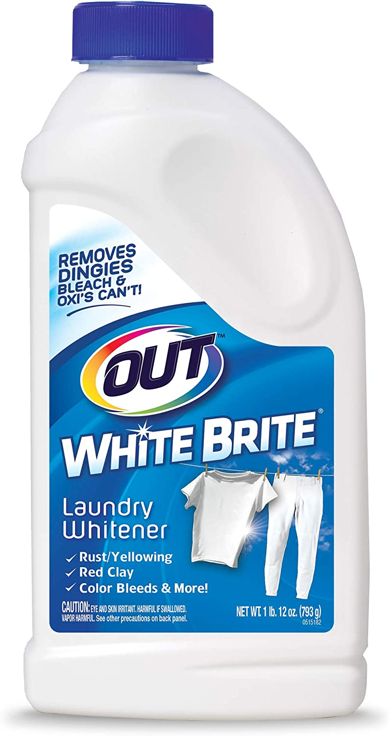 Amazon Com Out White Brite Laundry Whitener 1 Lb 12 Oz Bottle Home Kitchen
