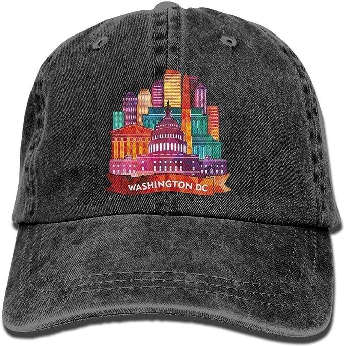 Gorra de béisbol de algodón de Washington DC, Gorra de béisbol ...