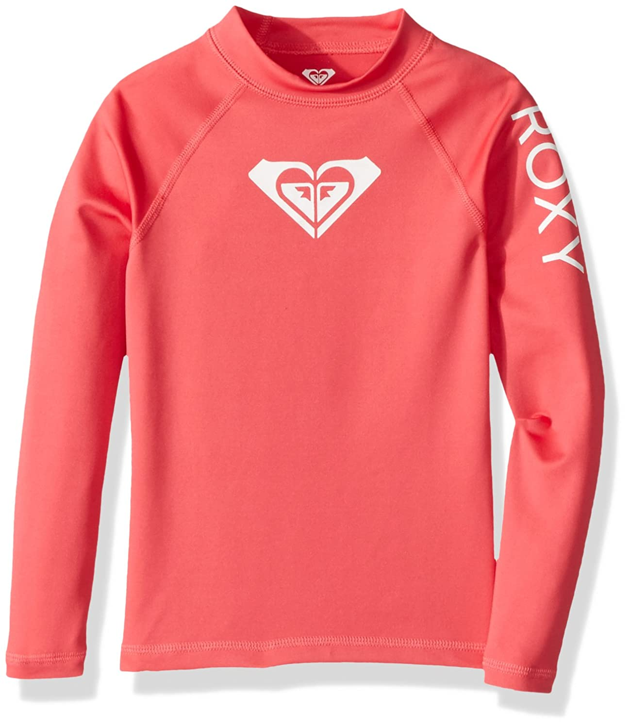Roxy Girls Whole Hearted Long Sleeve Rashguard Roxy Children' s Apparel ERGWR03007