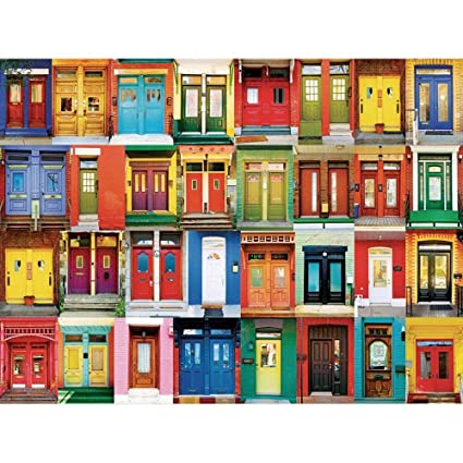 KODAK Premium Puzzles Colorful Montreal Doors Jigsaw Puzzle (1000 Piece)  sc 1 st  Amazon.com & Amazon.com: KODAK Premium Puzzles Colorful Montreal Doors Jigsaw ...