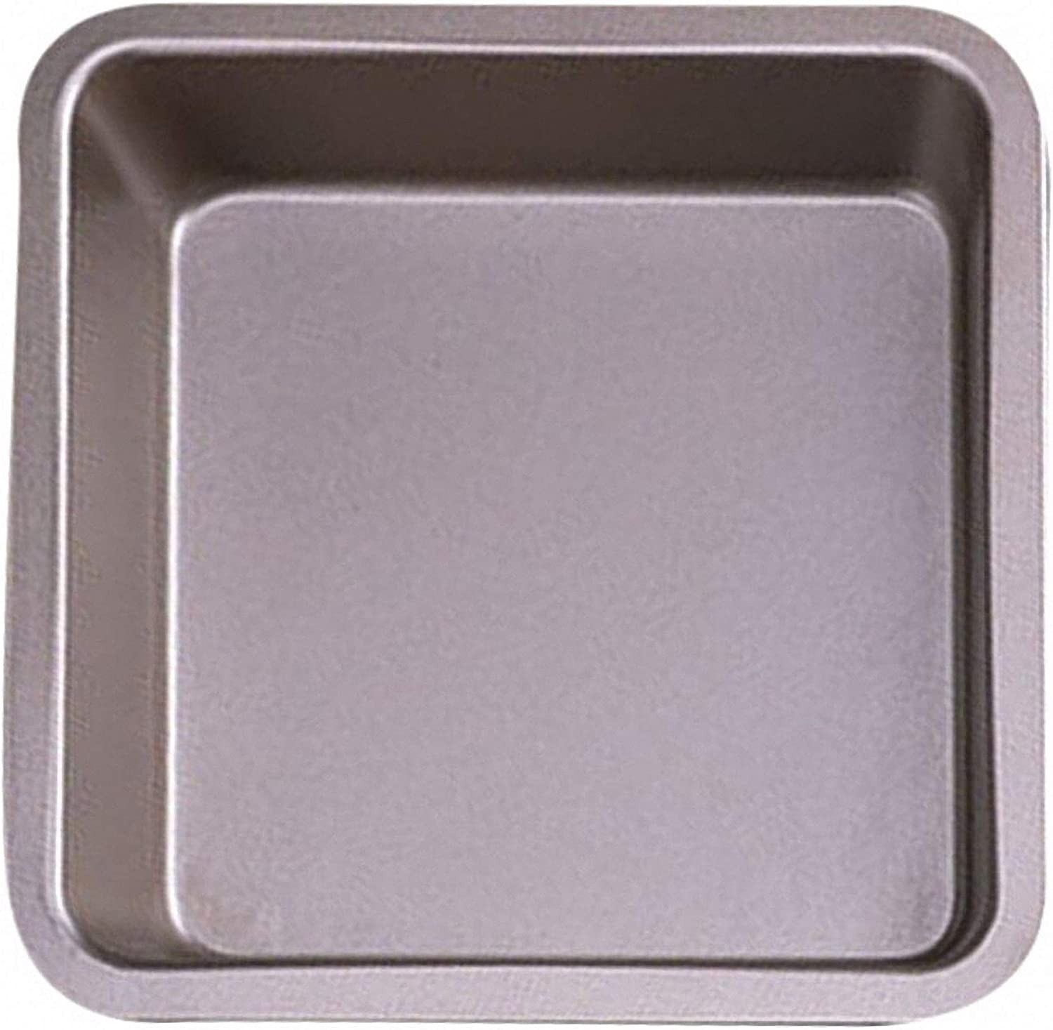 Amazon Com Cheap Store 8 Inch Square Steel Cake Loaf Baking Pan Tray Non Stick Baking Tray Kitchen Supplies Bakeware Tool 2 Compact Ovenware Baking Sheet Baking Sheet Pans Nonstick Gold Kitchen