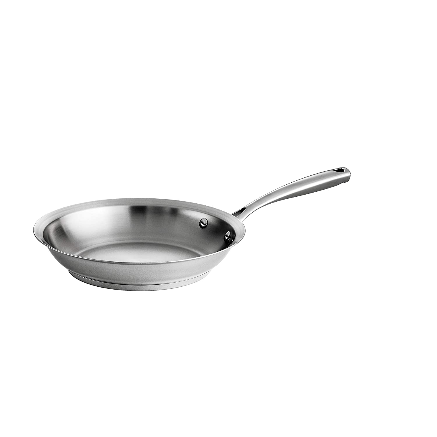 Tramontina 80101/020DS Gourmet Prima Stainless Steel, Induction-Ready, Impact Bonded, Tri-Ply Base Fry Pan, 10 inch, Made in Brazil