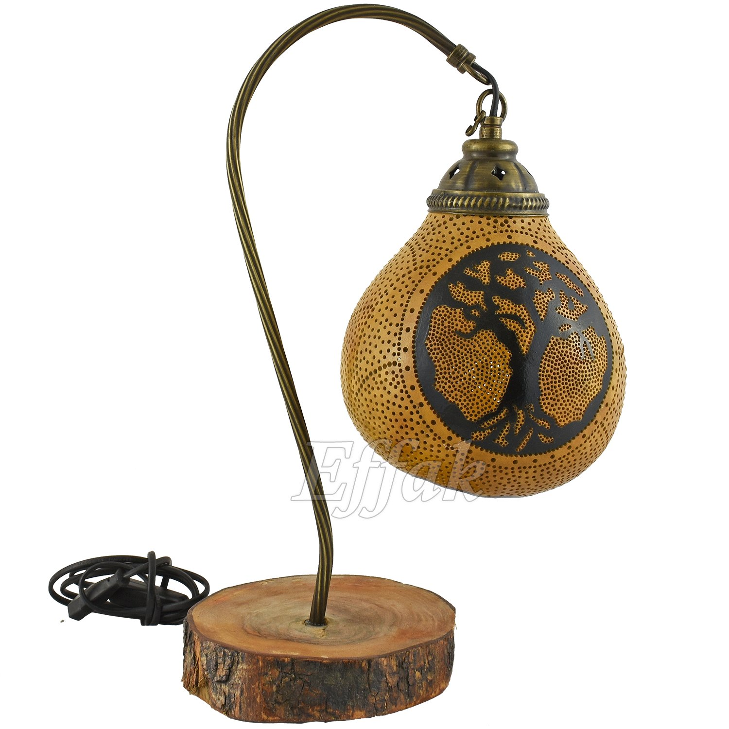 desk lamps calabarte exotic lights turkish gourd lanterns fairy light bohemian home decor moroccan furniture krbis lampen amazoncom - Krbis Tischlampen