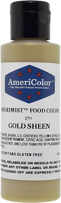 Top 8 Metallic Gold Fondant Food Coloring