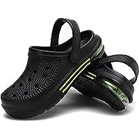 Madctoc Men Garden Clogs Rubber Shower Shoes Sports Sandals Mens Air Cushion Clogs Outdoor Indoor Slippers Lightweight…