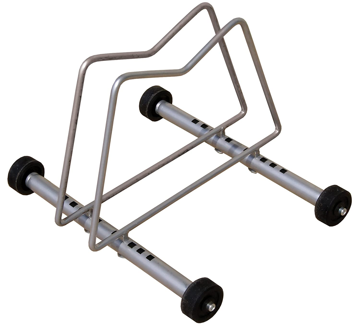 Gear Up Rack-N-Roll Single Bike Display Stand Silver Gear Up Inc. 30010
